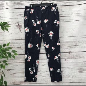 🌸TOMMY HILFIGER DARK BLUE FLORAL PANTS